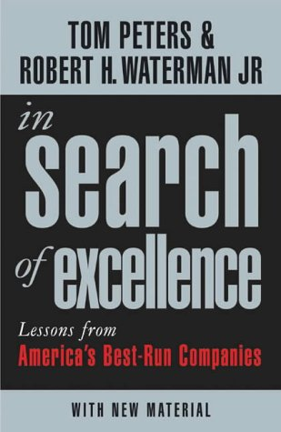 9781861977168: In Search Of Excellence: Lessons from America's Best-Run Companies (Profile Business Classics)