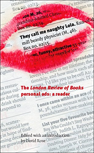 9781861978295: They Call Me Naughty Lola: The London Review of Books Personal Ads: A Reader