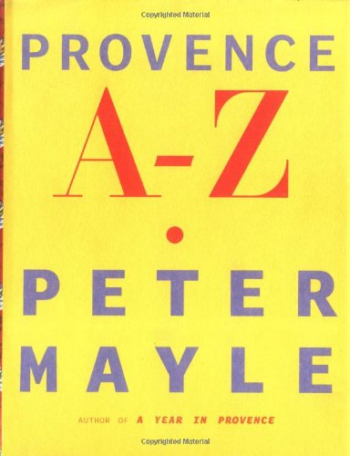 9781861978844: Provence A - Z - 1st Edition/1st Printing