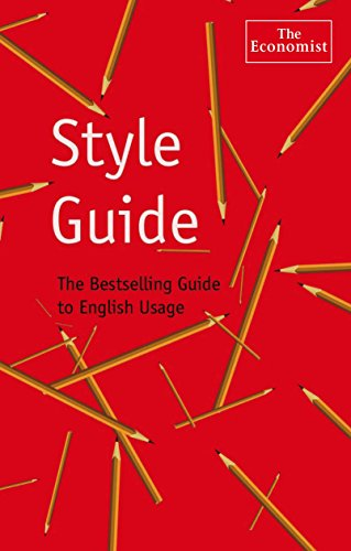 THE ECOMIST STYLE GUIDE