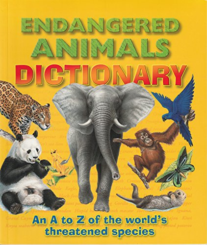 9781861991010: Endangered Animals Dictionary