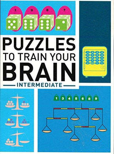 9781862007512: Puzzles to Train Your Brian: Intermediate