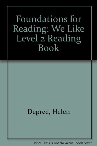 9781862020191: Foundations for Reading: We Like Level 2 Reading Book (Foundations)