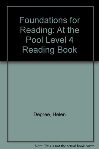 9781862020481: Foundations for Reading: At the Pool Level 4 Reading Book (Foundations)