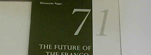 9781862030602: The Future of the Franco-German Relationship: Three Views (RIIA Discussion Paper)