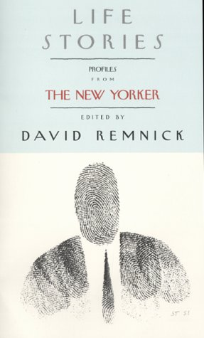 9781862055353: LIFE STORIES - Profiles from The New Yorker