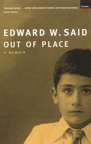 9781862073708: Out of Place: a Memoir