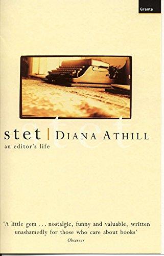 9781862074408: Stet: A Memoir