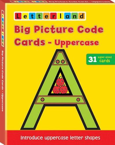 9781862091986: Big Capital Picture Code Cards (Letterland)