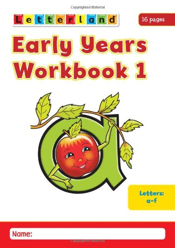 9781862092389: Early Years Workbooks: No. 1-4 (Letterland)