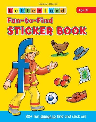 9781862092488: Fun to Find Sticker Book (Letterland)