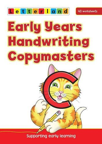9781862092501: Early Years Handwriting Copymasters