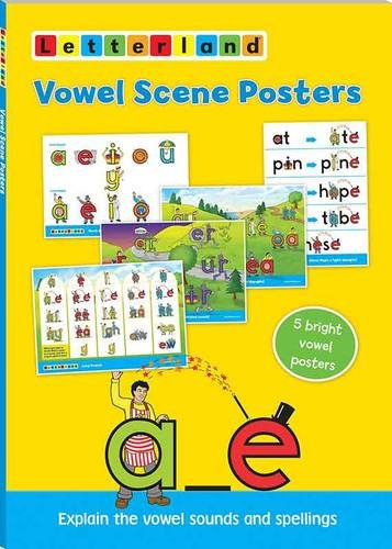 9781862092822: Vowel Scene Posters (Letterland)
