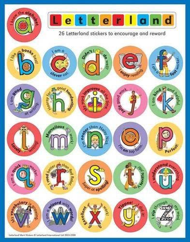 9781862093003: Letterland Merit Stickers