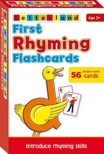 9781862093058: Rhyming Flashcards (Letterland)