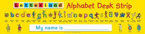 9781862093973: Alphabet Desk Strip (Letterland)