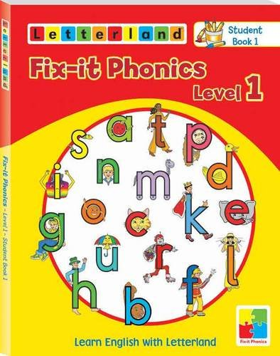 9781862096516: Fix-it Phonics: Studentbook 1 Level 1: Learn English with Letterland