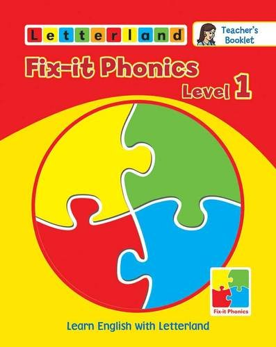 9781862096653: Fix-it Phonics: Teacher's Booklet Level 1: Learn English with Letterland