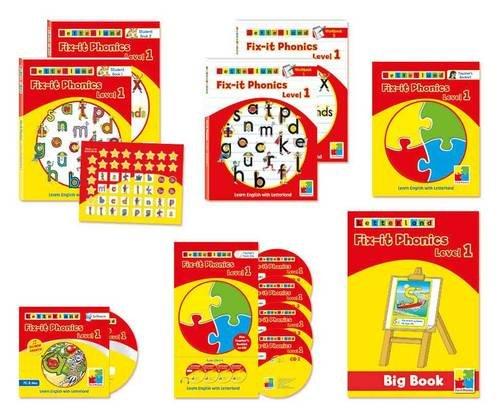 9781862097278: Fix it Phonics: Teacher's Pack Level 1