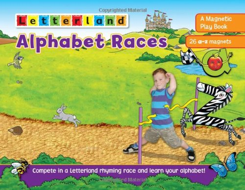 9781862098091: Alphabet Races: A Magnetic Play Book