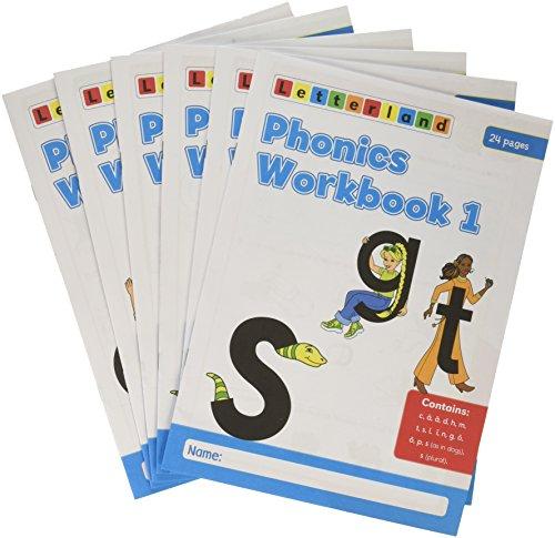 9781862099562: Phonics Workbooks (1-6)