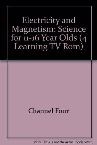 9781862158665: 4Learning Electricity and Magnetism TV-ROM: Science for 11-16 Year Olds (4 LEARNING TV-ROM)