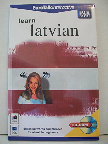9781862210714: Talk Now! Learn Latvian: Essential Words and Phrases for Absolute Beginners