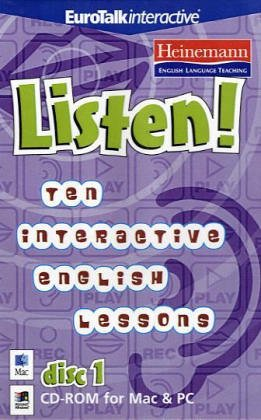 9781862219120: Listen! Ten Interactive English Lessons: 1