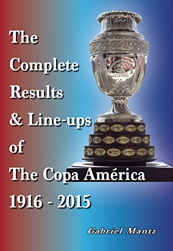 9781862233218: The Complete Results & Line-Ups of the Copa America 1916-2015