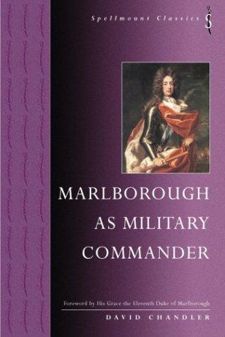 9781862271951: Marlborough as Military Commander (Spellmount Classics)