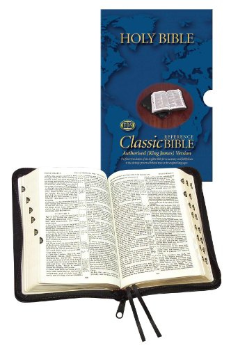 Holy Bible - Classic with Zip and Thumb Index: Authorised (King James) Version: Calfskin Medium ...