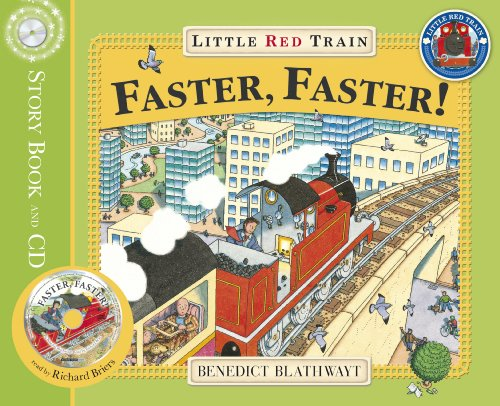 9781862304697: Little Red Train: Faster, Faster (Book & CD)