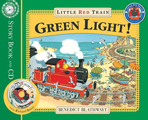 9781862305625: The Little Red Train: Green Light (Little Red Train Book & CD)