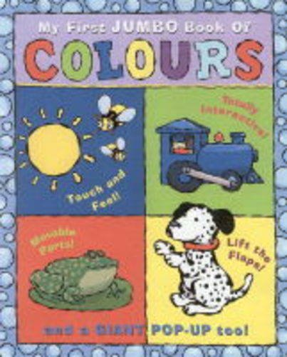 My First Jumbo Book of Colours (1862334420) by Diaz, James; Gerth, Melanie