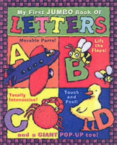 9781862335202: My First Jumbo Book of Letters