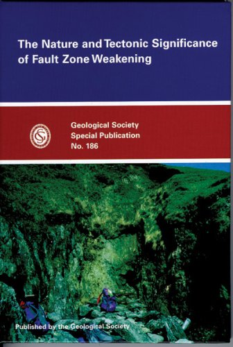 9781862390904: The Nature and Tectonic Significance of Fault Zone Weakening (Geological Society Special Publication, No. 186)