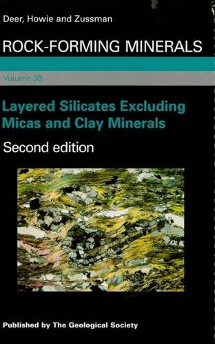 9781862392595: Rock-Forming Minerals: Layered Silicates Excluding Micas and Clay Minerals