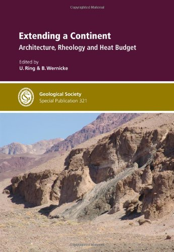 9781862392847: Extending a Continent: Architecture, Rheology and Heat Budget (Geological Society Special Publications)
