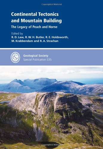 9781862393004: Continental Tectonics and Mountain Building: The Legacy of Peach and Horne - Special Publication 335 (Geological Society Special Publication)