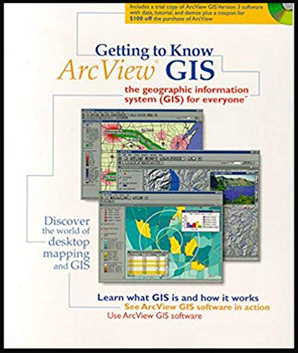 9781862420199: Getting to know ArcView GIS: The geographic information system (GIS) for everyone