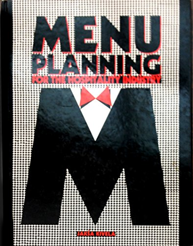 9781862504295: Menu Planning for the Hospitality Industry