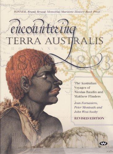 9781862548749: Encountering Terra Australis: The Australian Voyages of Nicolas Baudin and Matthew Flinders