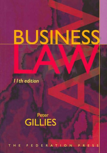 9781862874411: Business Law
