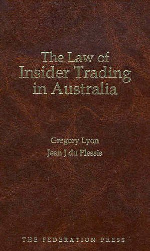 a critical analysis of the law relating to insider trading in three common law countries: uk, us & m The law of insider trading has changed dramatically over those decades, with the sec and the courts expanding the scope of the theory beyond all reasonable bounds however, it is this concept that we need to deal with , and we have had a great deal of success in defending potential defendants.
