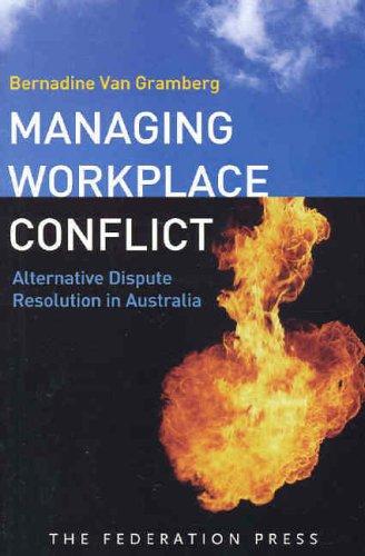 9781862875777: Managing Workplace Conflict: Alternative Dispute Resolution in Australia