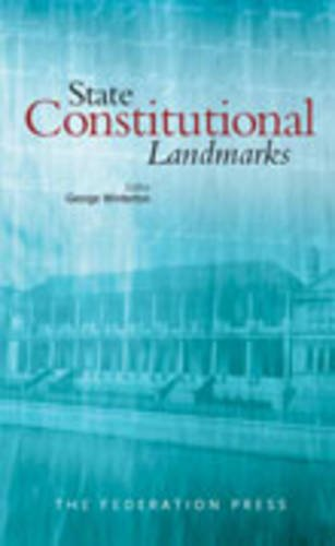 9781862876071: State Constitutional Landmarks (Nsw Sesquicentenary of Responsible Government)
