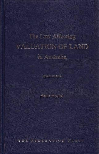 9781862877375: The Law Affecting Valuation of Land in Australia