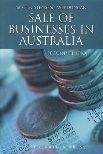 9781862877504: Sale of Businesses in Australia