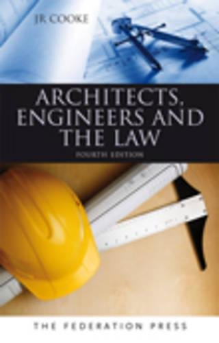 9781862877641: Architects, Engineers and the Law