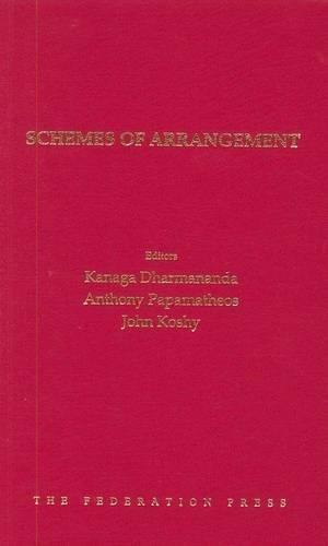 Schemes of Arrangement (Hardcover): Kanaga Dharmananda